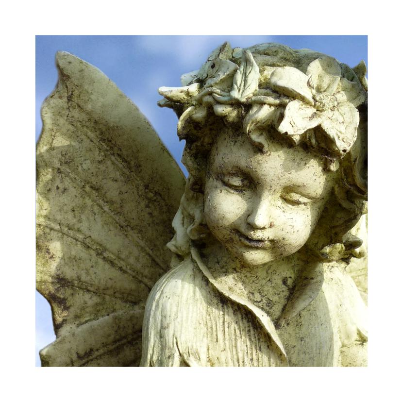 Sterkte kaarten - Sterkte Engel Vlindermeisje