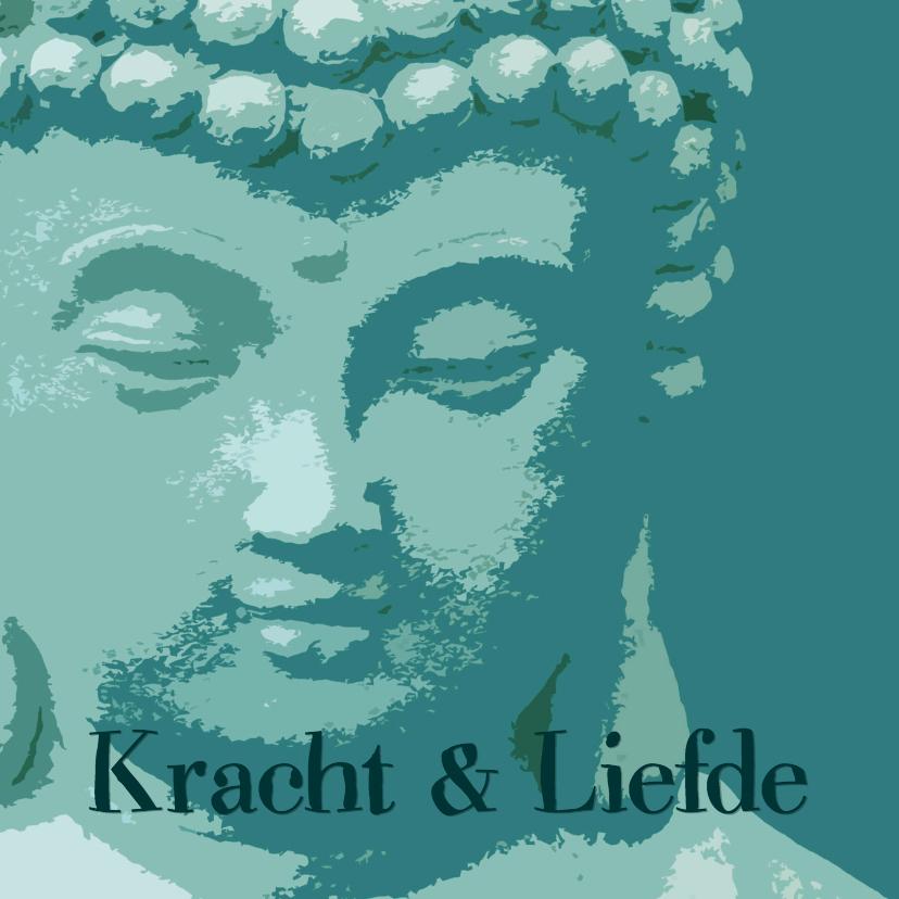 Sterkte kaarten - Sterkte kaart Boeddha kracht liefde