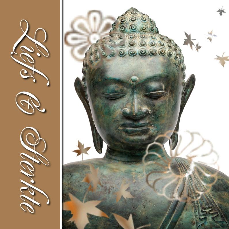Sterkte kaarten - Sterkte kaart Buddha - liefs en sterkte