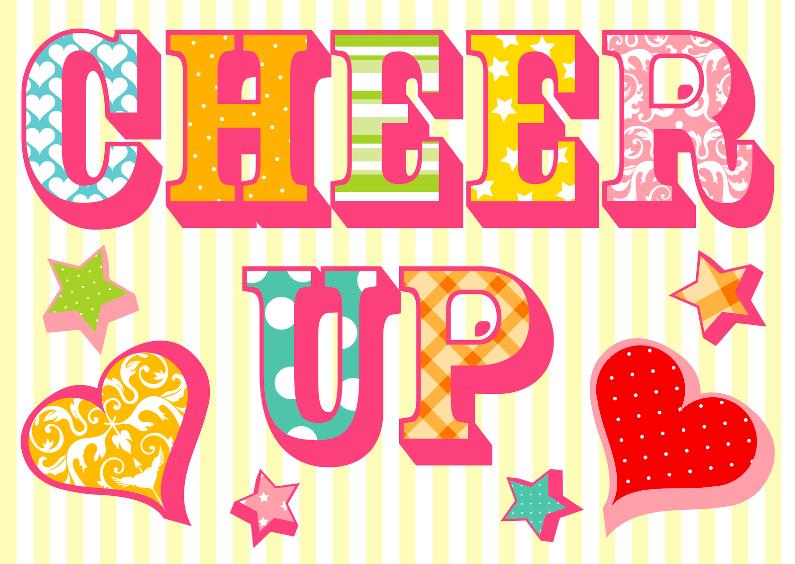 Sterkte kaarten - Sterkte kaart Cheer Up