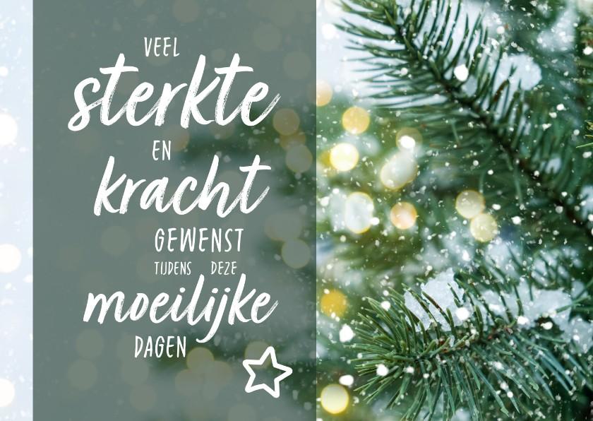 Sterkte kaarten - Sterkte - kerstdagen