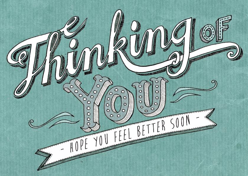 Sterkte kaarten - sterkte knuffel denk aan je