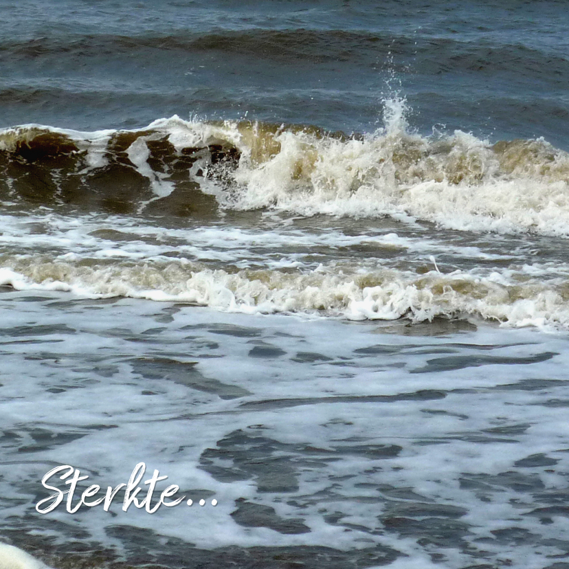 Sterkte kaarten - Sterkte Krachtige golven