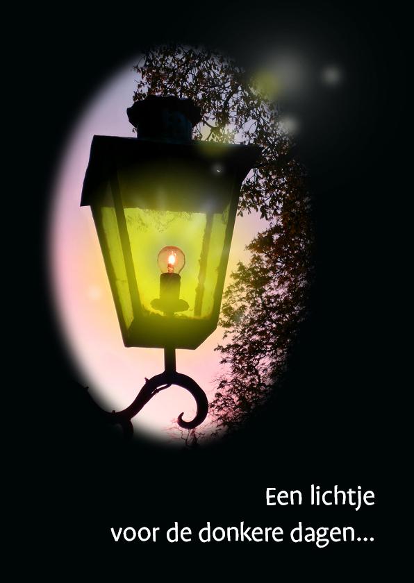 Sterkte kaarten - Sterkte lantaren lichtje