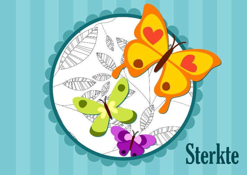 Sterkte kaarten - Sterkte vlinders LH