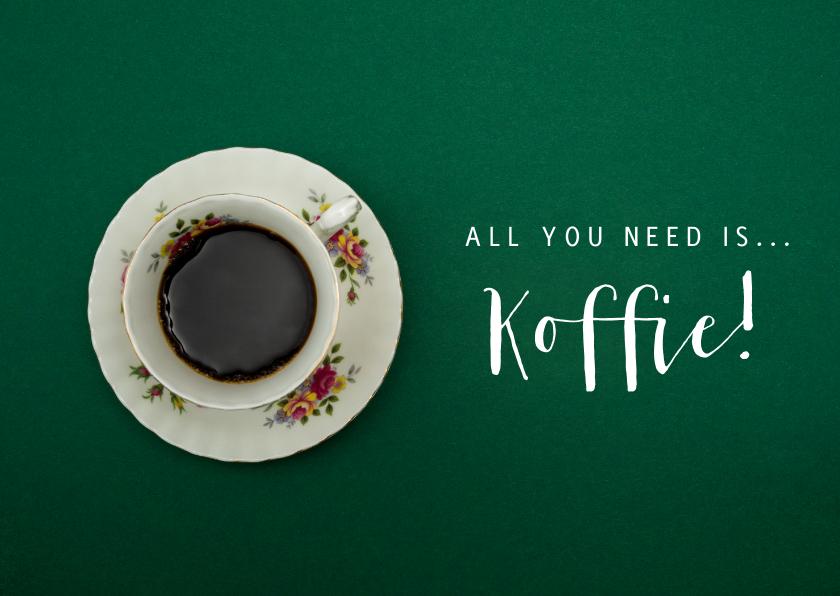 Sterkte kaarten - Sterktekaart - All you need is koffie