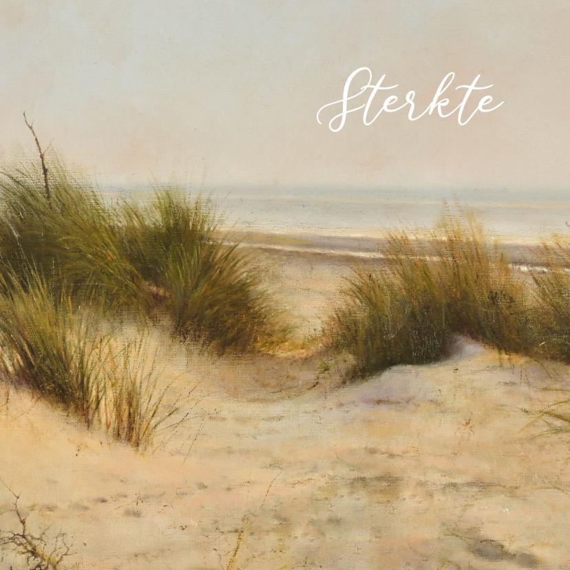 Sterkte kaarten - Sterktekaart duinen