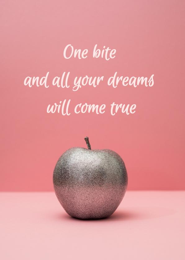 Sterkte kaarten - Sterktekaart - I wish all your dreams come true