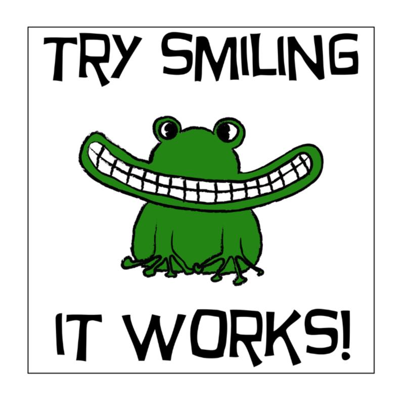 Sterkte kaarten - try smiling