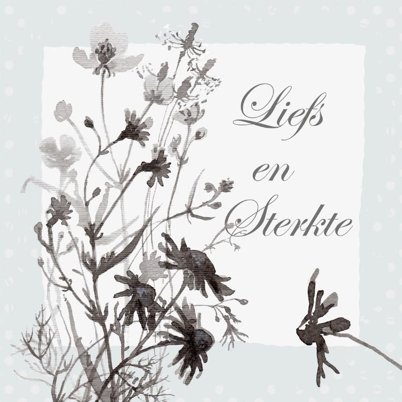 Sterkte kaarten - Weidebloemen sterkte kaart