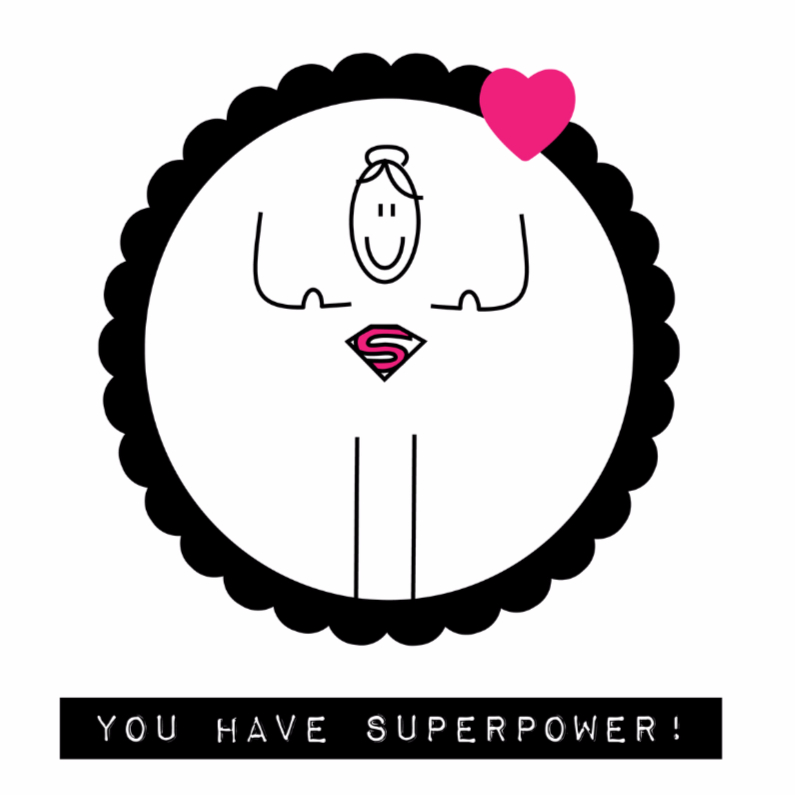 Sterkte kaarten - You have superpower
