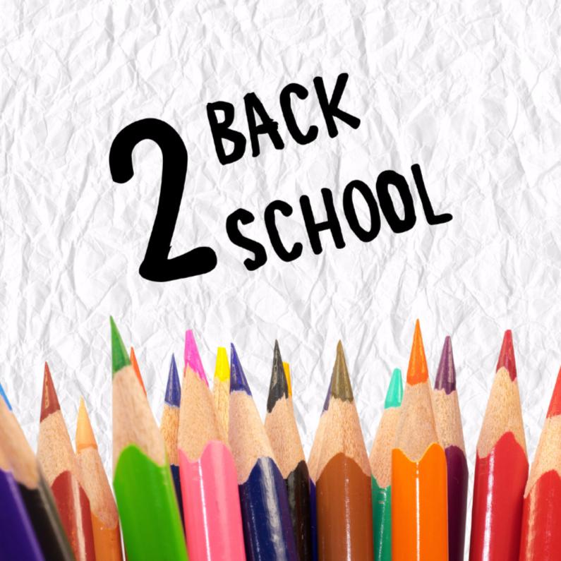 Succes kaarten - Back 2 School - DH