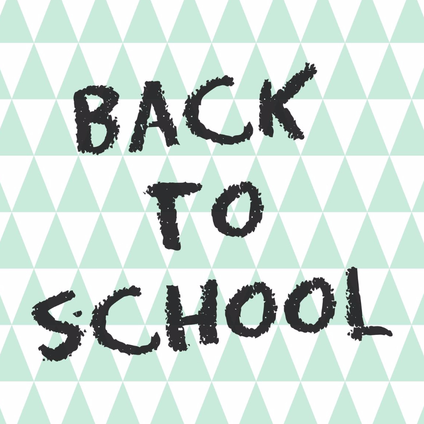 Succes kaarten - Back to school Kaart - WW