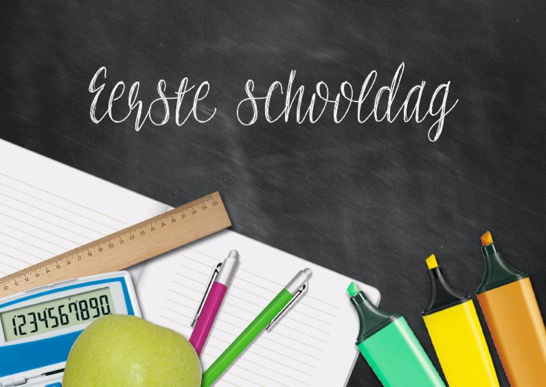 Succes kaarten - Eerste schooldag
