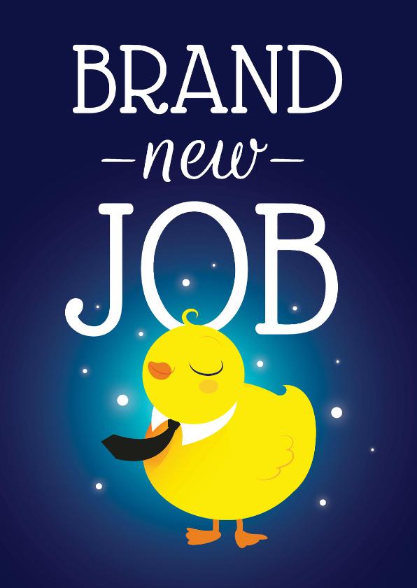 Succes kaarten - Pucky - Brand New Job - KO