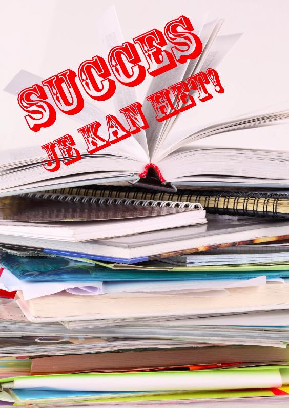Succes kaarten - Sterktekaart Succes met leren