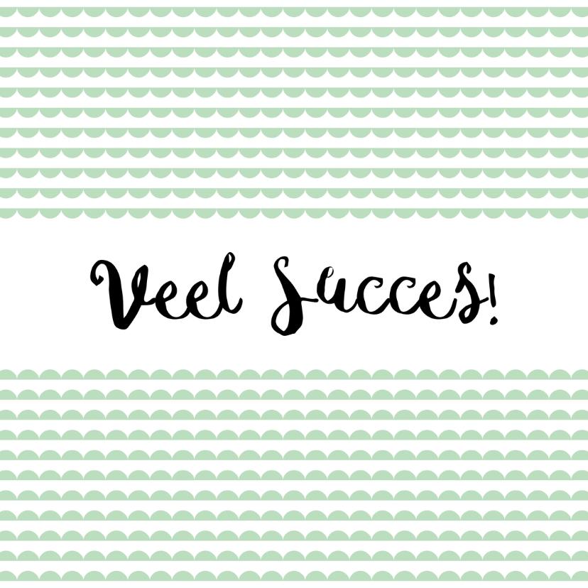 Succes kaarten - Succes kaartje mint