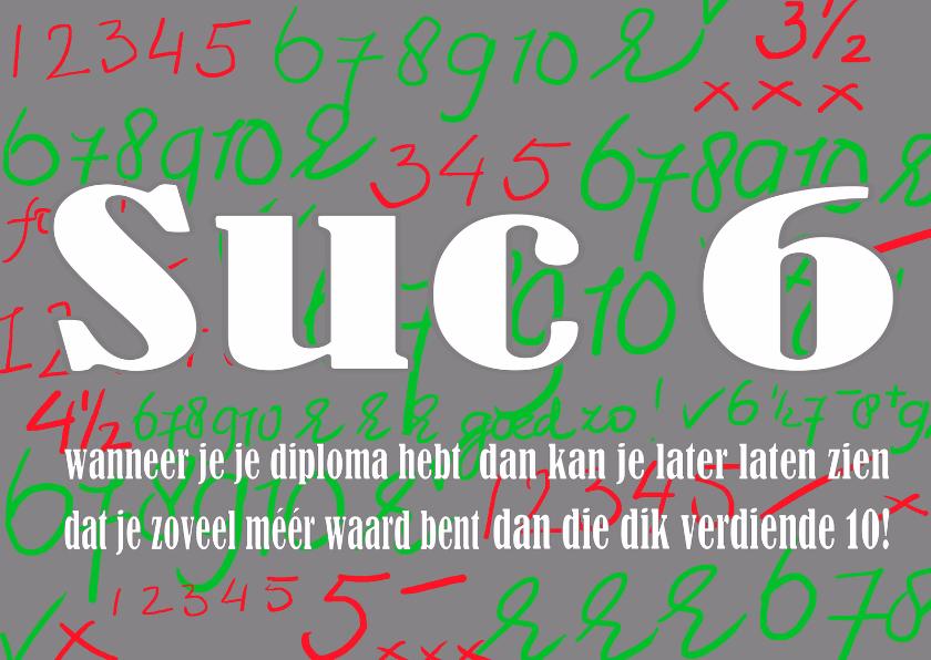 Succes kaarten - Succes Rood en groen - AW