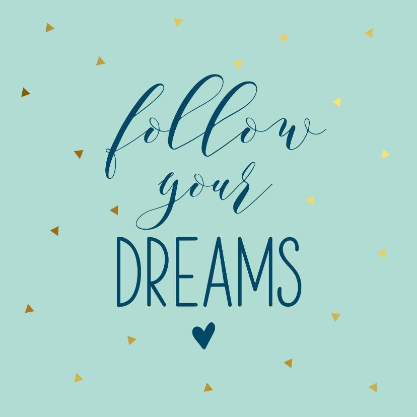 Succes kaarten - Succeskaart dreams