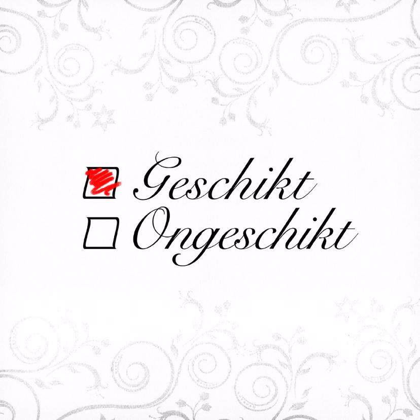 Trouwkaarten - Geschikt... Save the Date - BK