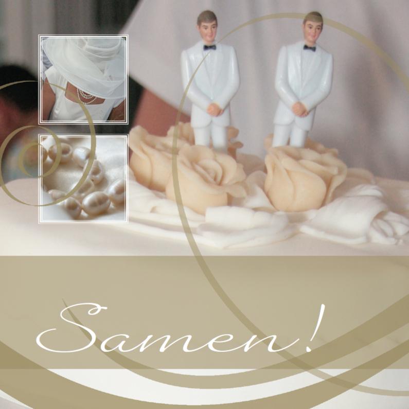 Trouwkaarten - Homo huwelijk