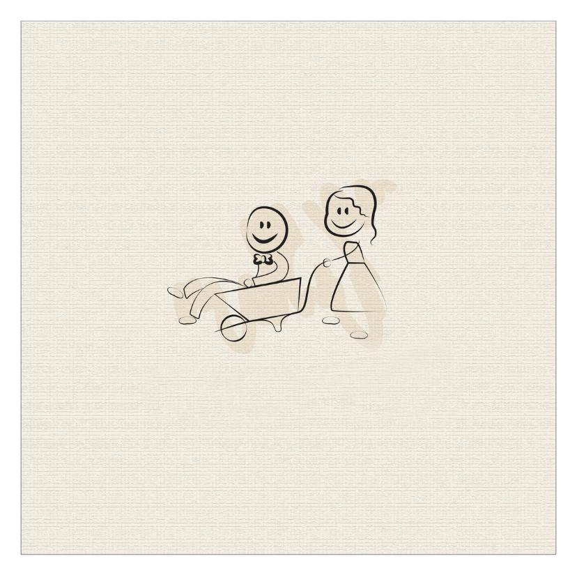 Trouwkaarten - jij en ik ik en jij