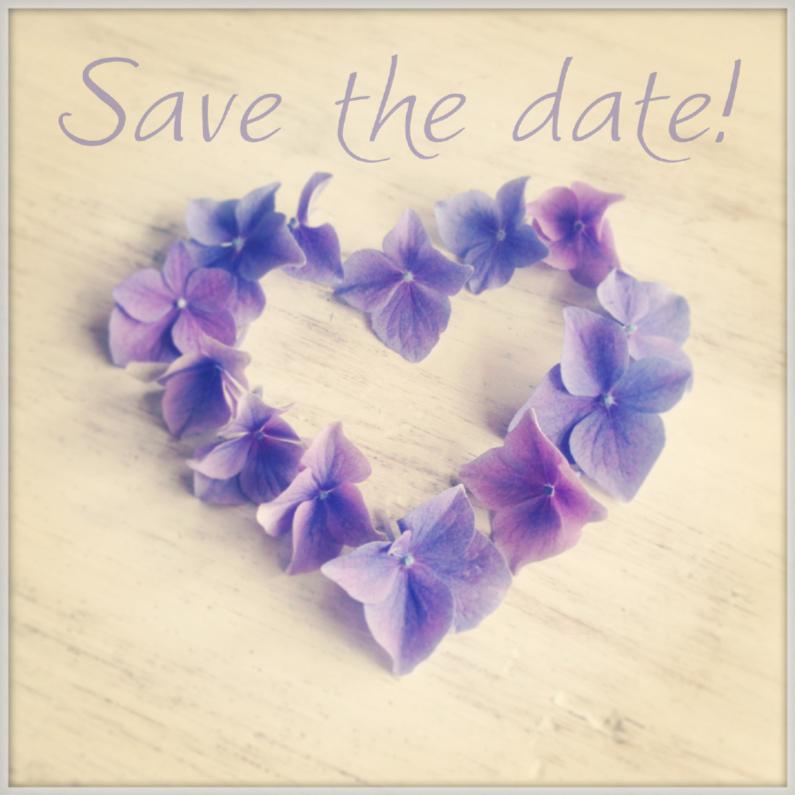 Trouwkaarten - Save the date instagramstijl