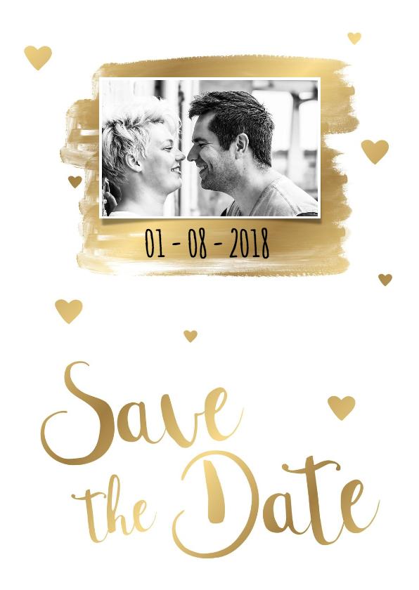 Trouwkaarten - Save the Date kaart 2 - WW