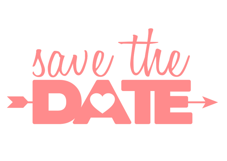Save the date pink typo 1