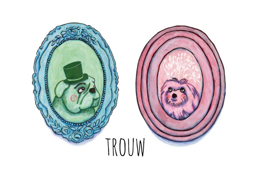 Trouwkaarten - trouw-samen-kk