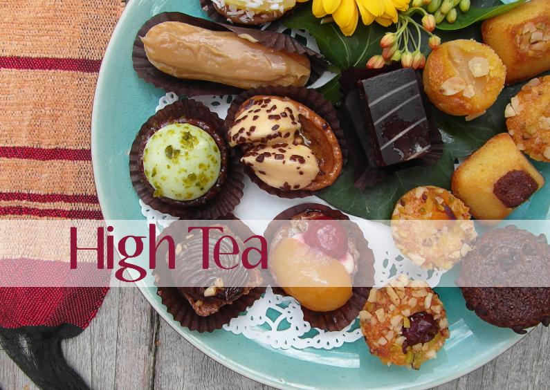 Uitnodigingen - 13144 Uitnodiging High Tea