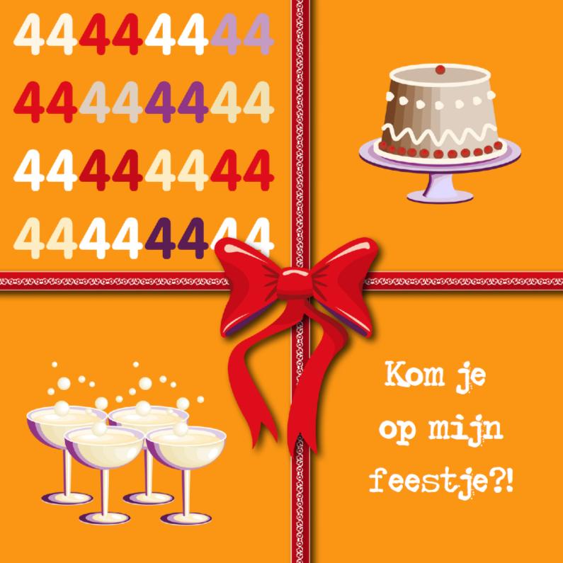 Uitnodigingen - 44e verjaardag