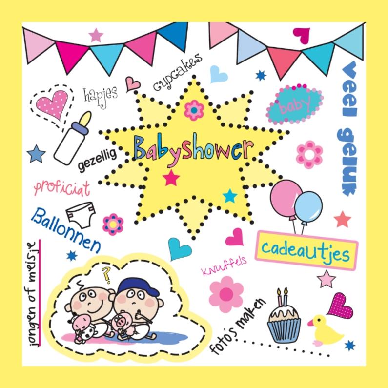 Uitnodigingen - Babyshower