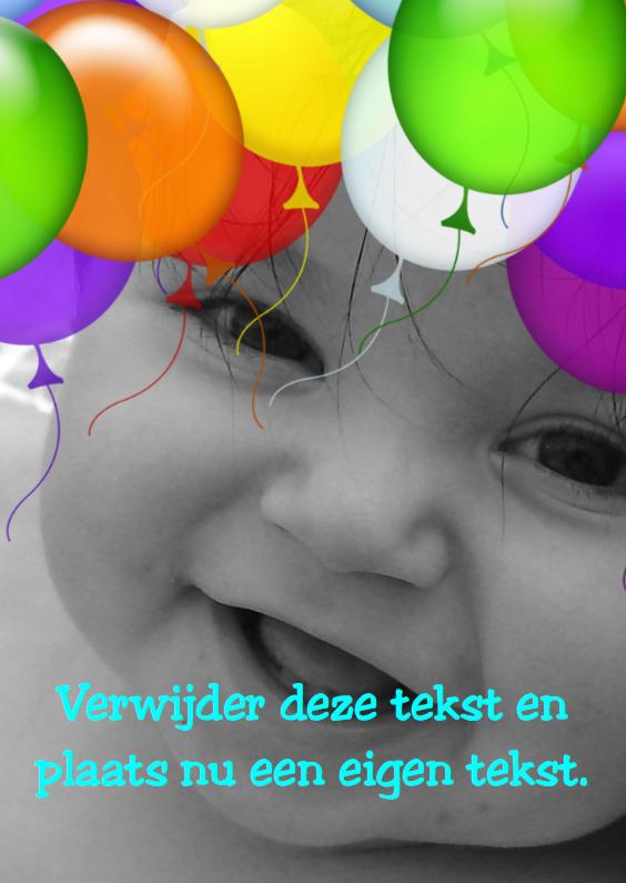 Uitnodigingen - Ballonnen lijst 2