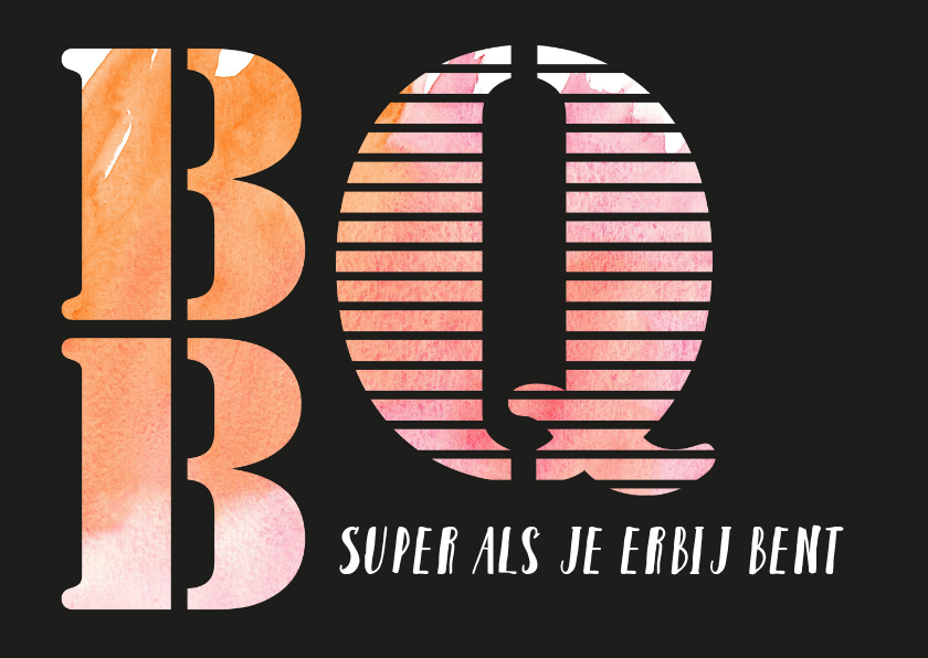 Uitnodigingen - BBQ - super als je erbij bent