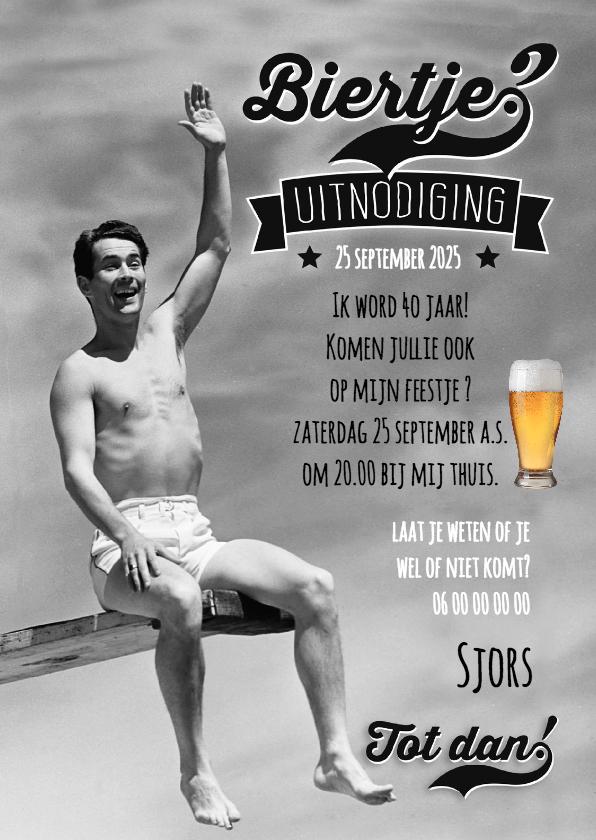 Uitnodigingen - Biertje zwemmer-isf