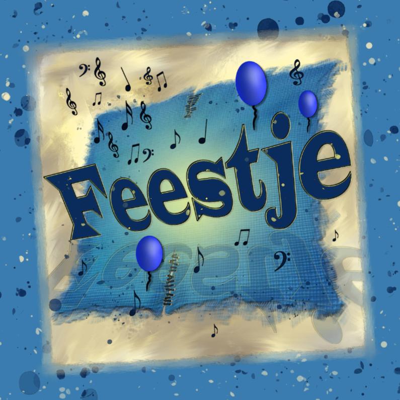 Uitnodigingen - BlauwFeestje