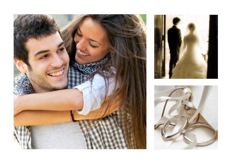 Uitnodigingen - Collage Jubileum Huwelijk - BK