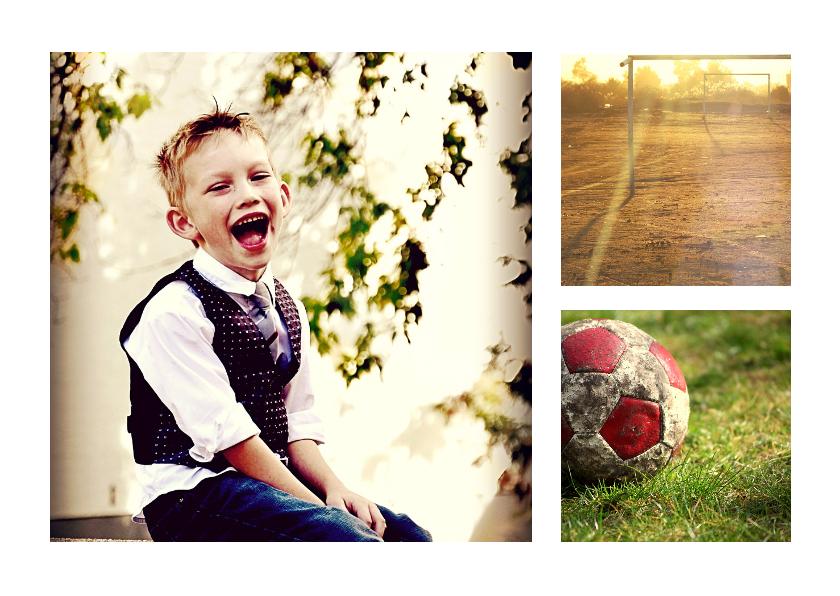 Uitnodigingen - Collage Kinderfeestje - BK