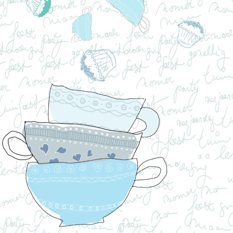 Uitnodigingen - Cup of tea