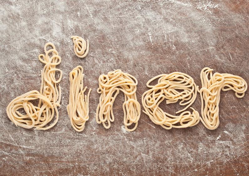 Uitnodigingen - DINER van verse pasta