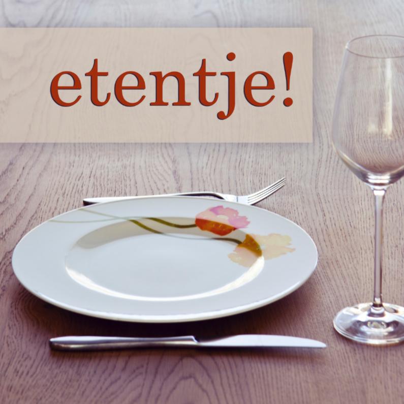 Uitnodigingen - Diner
