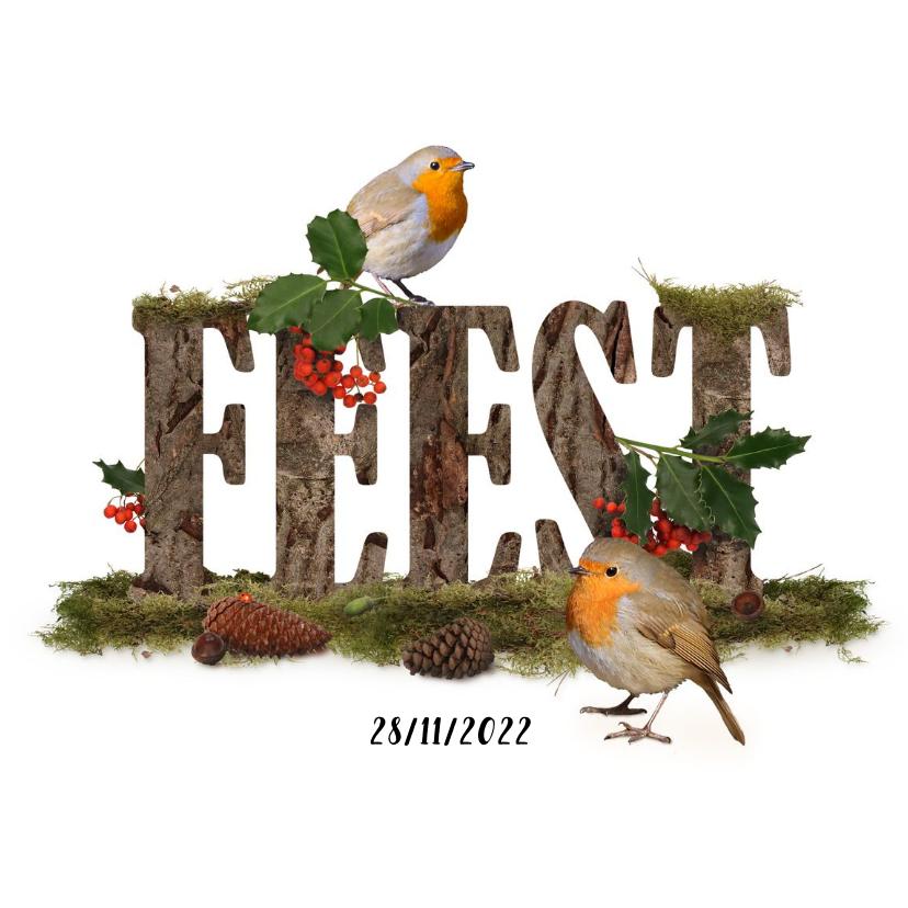 Uitnodigingen - Feest herfst en winter