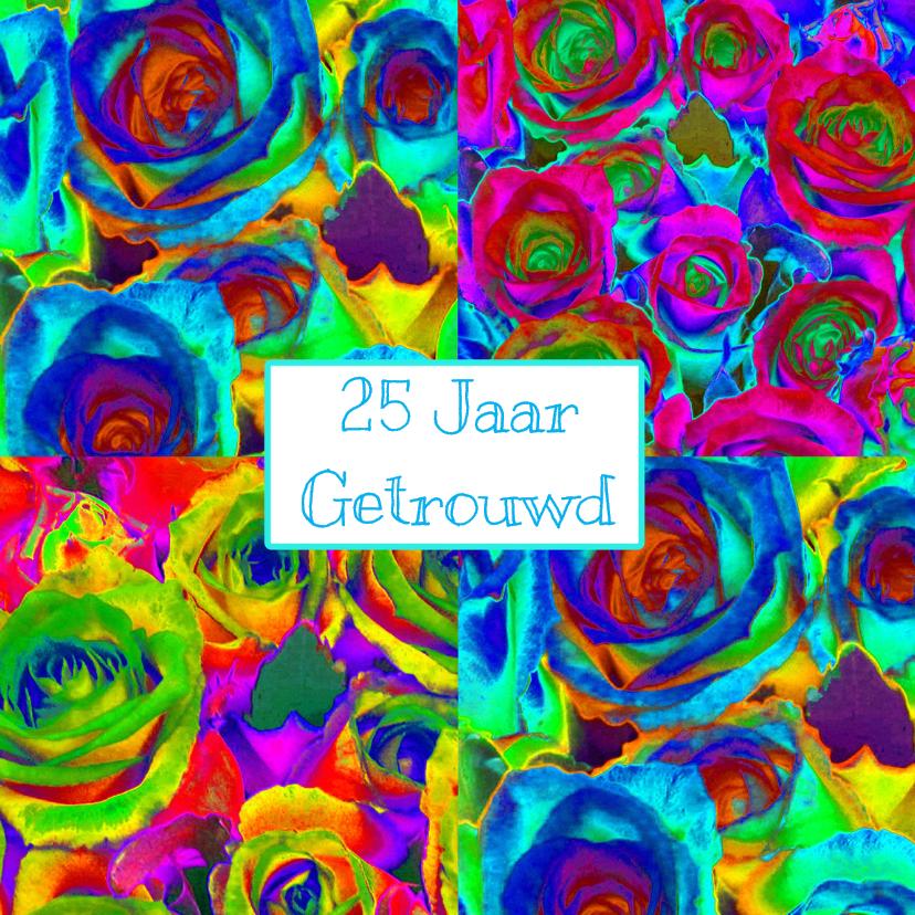 Uitnodigingen - Feest vol rozen