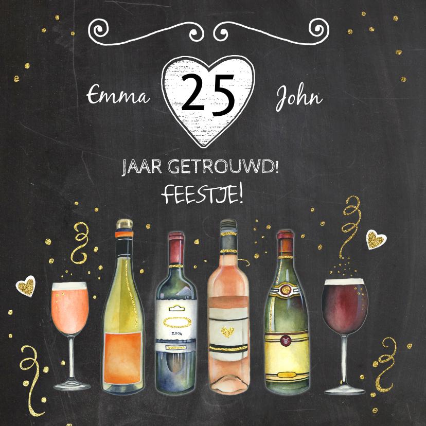 Uitnodigingen - Feest wijn jubileum