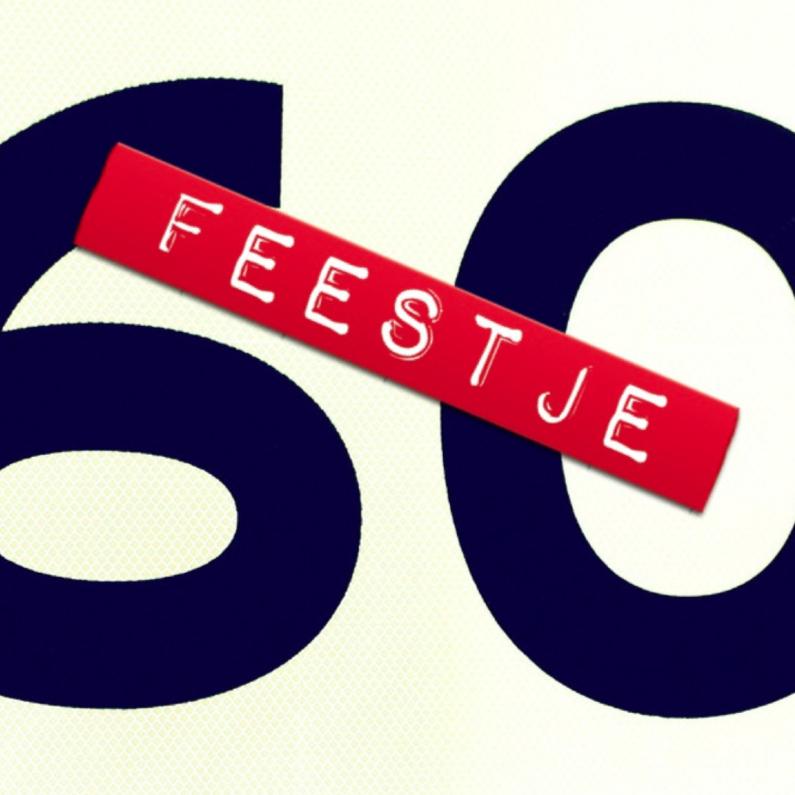 Uitnodigingen - feestje 60 jaar