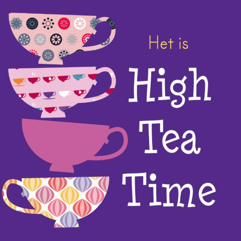Uitnodigingen - High tea kopjes 3