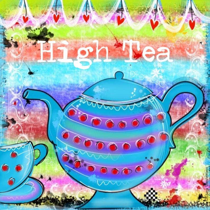 Uitnodigingen - High Tea uitnodiging CYL