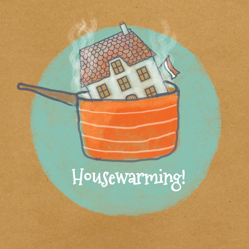 Uitnodigingen - Housewarming - Warm Huis -MW