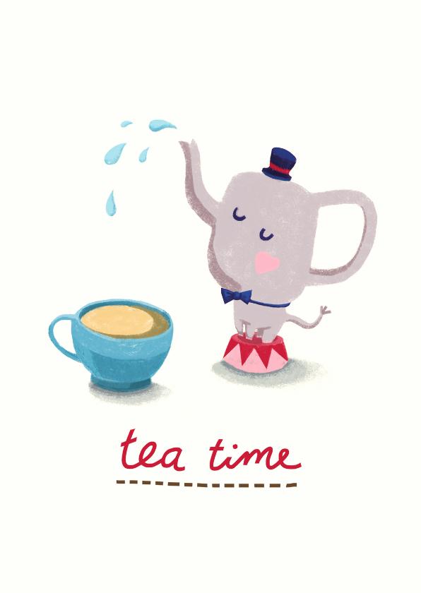 Uitnodigingen - It's teatime! Theetijd :)